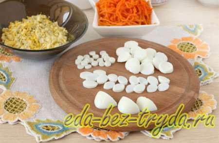 Подготовим яйца для украшения 4 шаг
