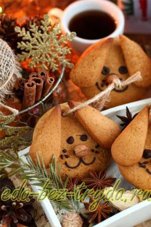 Имбирное печенье «Собачки» готово!