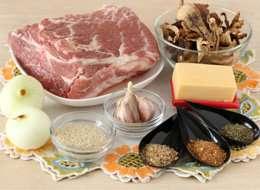 как приготовить Мясной рулет грибами и сыром
